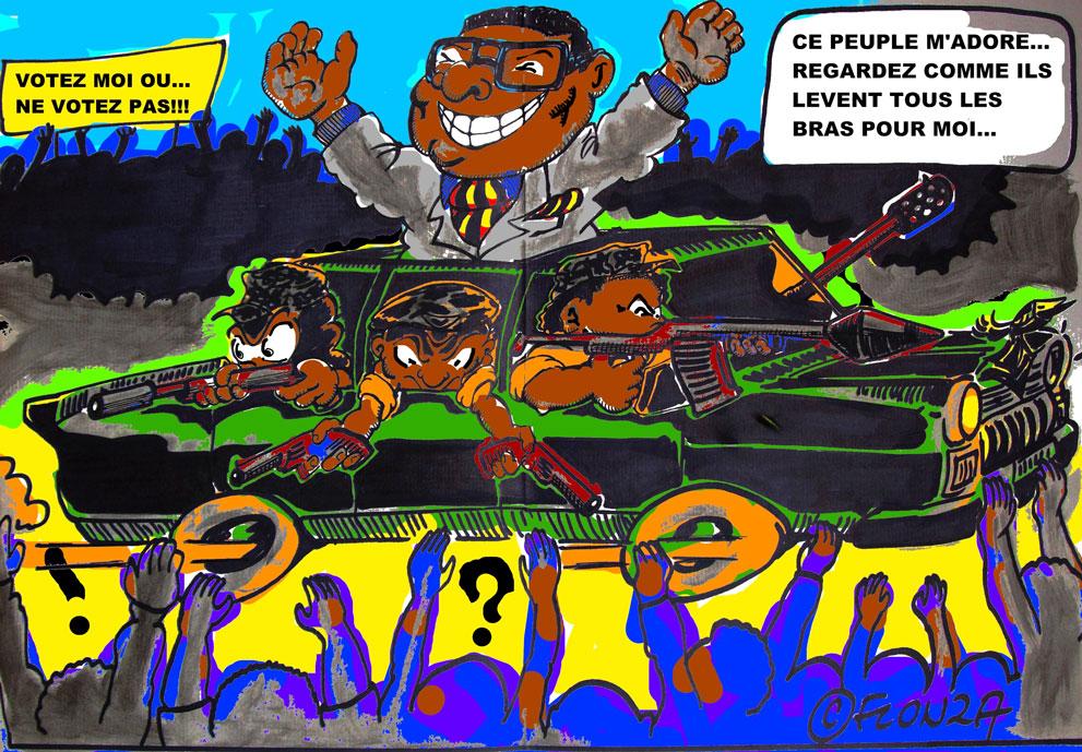 Campagne électorale à l'Africaine