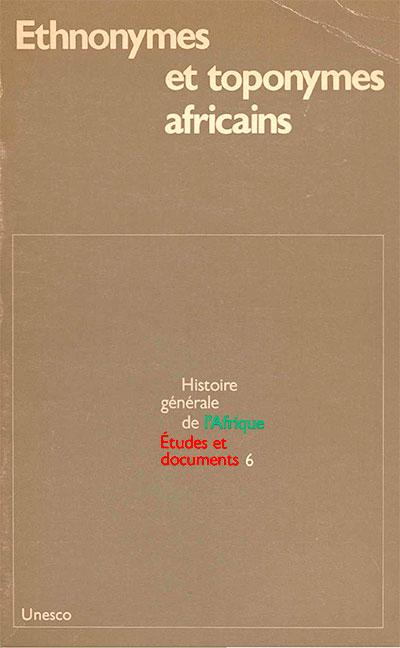 Etudes et documents: Histoire générale de l'Afrique, volume VI
