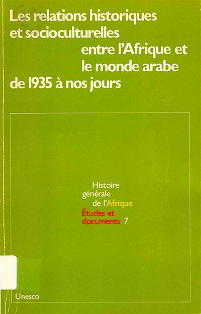 Etudes et documents: Histoire générale de l'Afrique, volume VII