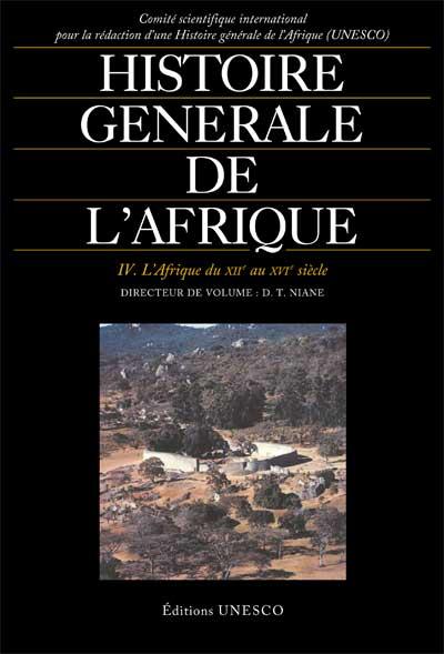 Histoire générale de l'Afrique, volume IV