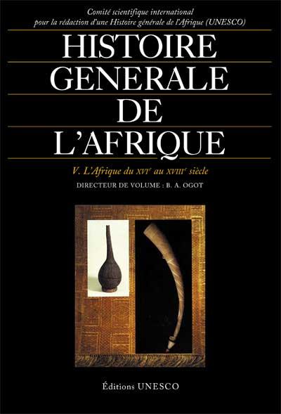 Histoire générale de l'Afrique, volume V