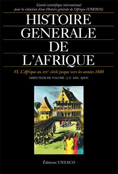 Histoire générale de l'Afrique, volume VI